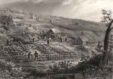 """""""Concordia Gold Mines"""" by Edwin Carton BOOTH. Victoria Australia Gold Rush c1874"""