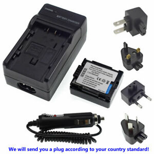 CGA-DU07 Battery + Charger for Panasonic PV-GS120 GS180 GS200 PV-GS300 PV-GS320
