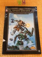 Codex Space Wolves - Scarce Early 2000 Edition 40k , Warhammer