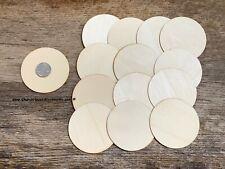 25 - 3 inch wooden craft circles, DIY craft supplies 3 inch wood circles