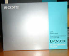 LOT OF 5x SONY UPC-5030 OHP COLOR PRINTING PACKS (50 PRINTS PER PACK)  = N E W =