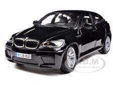 2011 2012 BMW X6 M X6M BLACK 1/18 DIECAST MODEL CAR BY BBURAGO 12081