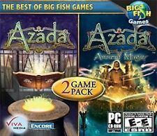 New Azada/Azada: Ancient Magic: 2 Game Pack (PC, 2011) Hidden Object and Puzzle