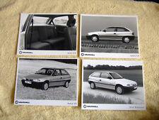 Vauxhall Astra Mk3 Press Photos x 4, 1991, LS & Expression SE
