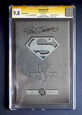 Superman #75 Poly-Bag Edition CGC SS 9.8 Signed by Dan Jurgens