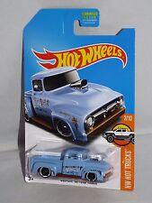 Hot Wheels 2017 HW Hot Trucks Series KMart KDays Custom '56 Ford Truck Blue