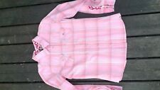 jolie chemise roxy rose taille M tres bon etat