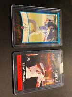 2001 Bowman Albert Pujols Rookie Card and Minor League RC St Louis Cardinals