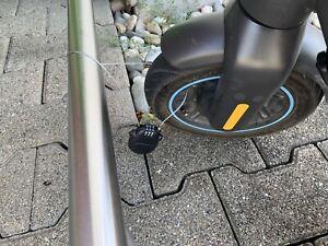 E-Scooter Drahtschloss - Diebstahlsicherung - Schwarz