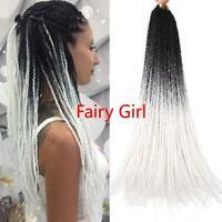22Inch Crochet Hair  Crochet Braids Hair Synthetic Braiding Hair Extensions