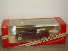 Peugeot 402B Tourisme 1938 - Teknoby 1:43 in Box *37373