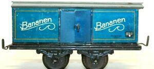 "VINTAGE RARE PRE-WAR KARL BUB (KBN) ""BANANEN"" 0-GAUGE FREIGHT CAR"