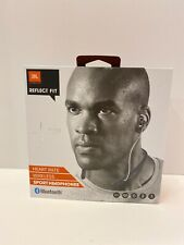 JBL Reflect Fit In-Ear Wireless Sport Headphones with Heart-Rate Monitor, Black