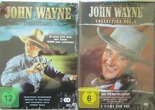 JOHN WAYNE Collection Die fühen Jahre mit 7 Filmen - 2 DVDs als Set - NEU-1919