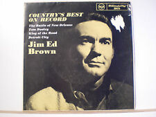 """45 Vinyl Records Jim Ed Brown EP """"The Country's Best On Record"""""""