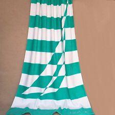 BN NAUTICA color contrast beach gym bath towel 100% cotton 170x90 AQUA