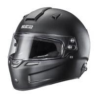 FIA SNELL Sparco Air Pro RF-5W Black Full Face Helmet
