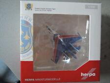 Herpa 556385 Russian Knights Aerobic Team Sukhoi SU-27UB neu (KÜ)
