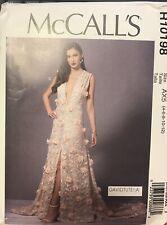McCall's David Tutera pattern R10198 Special Occasion Dress sz 4, 6, 8, 10, 12