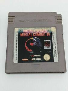 Mortal Kombat I & II Nintendo Game Boy Color Advance Game Cart Only Genuine EUR