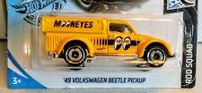 """HOT WHEELS ~~'49 VOLKSWAGEN BEETLE PICKUP~~ """"MOONEYES"""" 2020 ROD SQUAD SERIES"""