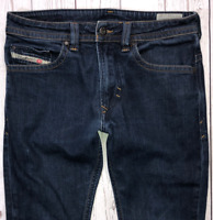 Mens DIESEL Thavar Jeans W29 L30 Blue Slim Skinny Fit Wash 0R8J4_STRETCH 🇮🇹