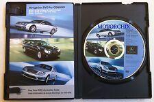 2004 2005 2006 MERCEDES BENZ E CLASS E55 E320 E500 AMG NAVIGATION MAP CD DVD