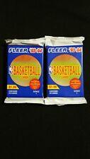 1993-94 Fleer Basketball Series 1 Jumbo Pack 2 Pack Lot