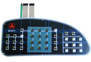 Membrane Switch Graphic Overlay Keypad Repair or Customized Design & Manufacture