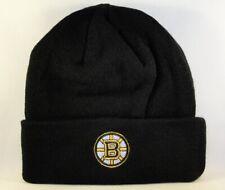 Boston Bruins NHL Zephyr Cuffed Knit Hat Black
