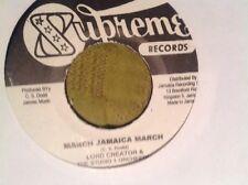 Lord creador/Marzo Jamaica marzo/Madres Amor Studio