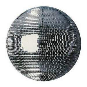 """Disco Mirror Ball - 40"""" (100cm) with Safety Loop"""