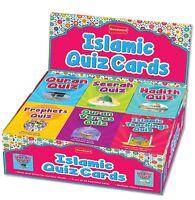 Islamic Teachings Quran Verses The Prophets Hadith Seerah Quiz Cards Muslim Kids