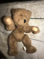 """Boyd's Bears Humpback Vintage Plush Jointed Bear 10"""" with White Tag c) 1990"""