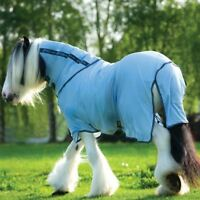 Horseware Amigo BUG RUG XL - Azure Blue with Gunmetal & Bluebell - Fliegendecke