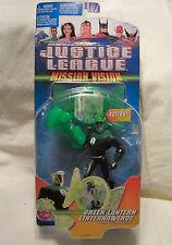 Justice League Mission Vision Green Lantern Action Figure 2003 Mattel NEW