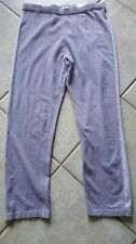 CHICO'S ZENERGY PLUM FROST CASHMERE SHIMMER STRIPE PANTS NWT CHICO'S SZ 3 $89