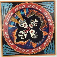 Vintage Vinyl LP Kiss Rock And Roll Over NBLP 7037 Casablanca Records 1976