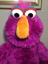 """Vintage Applause Jumbo Telly Monster 26"""" Sesame Street Vintage Plush Stuffed Toy"""