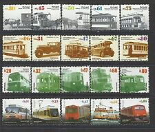Portugal 2007/2010 - Urban Public Transports complete set MNH