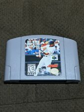 All-Star Baseball 99 Nintendo 64 N64 Authentic REAL works
