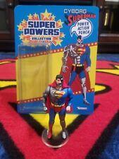 "Custom Carded Super Powers Cyborg Superman ""Hank Henshaw"" (Read Description)"