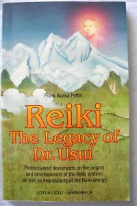 Reiki The Legacy of Dr. Usui Frank Arjava Peter Pre-owned Excellent Condition