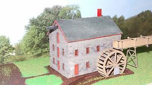 N Scale Grist Mill Kit