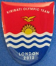 LONDON 2012 Olympic KIRIBATI NOC Internal team - delegation pin