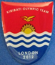 LONDON 2012 Olympic KIRIBATI NOC Internal team  delegation pin