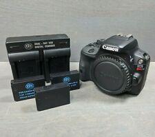 Canon EOS Rebel SL1 18.0MP Digital SLR Camera - Black (Body Only) - 2K Clicks