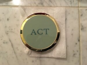 Monogrammed Mirror Compact - from Red Envelope Gifts - ACT
