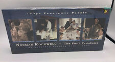 Panoramic jigsaw puzzle - Norman Rockwell - The Four Freedoms 750 pcs.
