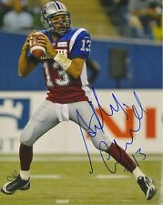 Anthony Calvillo Montreal Alouettes CFL autographed signed 8x10 Photograph w/COA